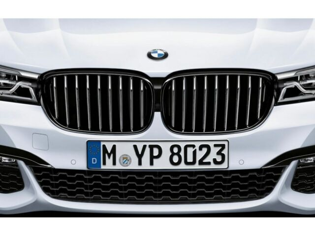 Bmw Oem M Performance Kidney Grill Highgloss Black 5