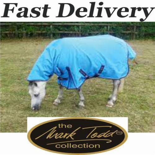 Mark Todd Pony Medium Weight 220g Combo Turnout Rug New All Sizes