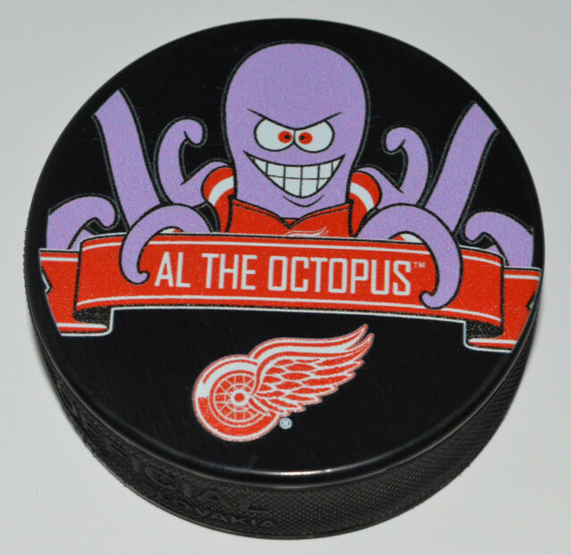 Detroit red wings mascot al the octopus team logo souvenir hockey detroit red wings mascot al the octopus team logo souvenir hockey puck nhl new voltagebd Images