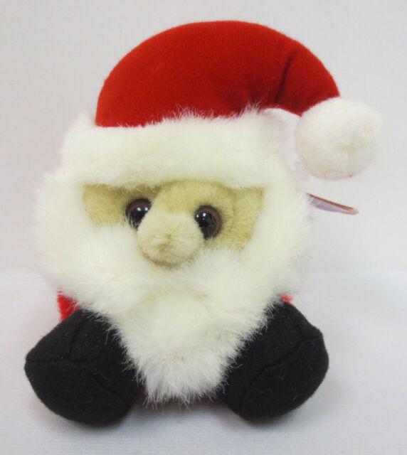 puffkins ho ho santa claus beanie 1997 collection rare collectors new cute xmas - Santa Hohoho 2