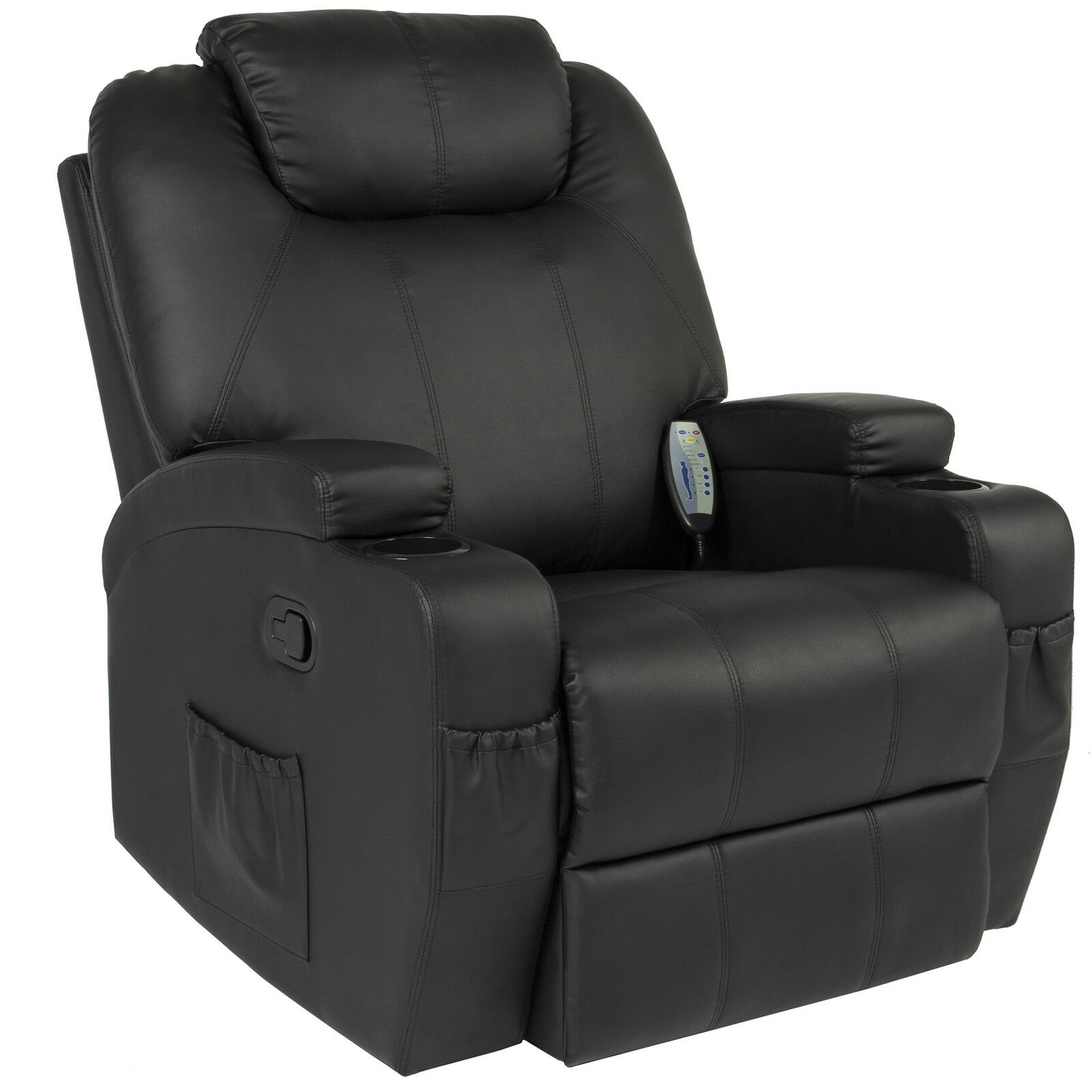 Best Choice Products Massage Recliner Sofa Chair Heated with