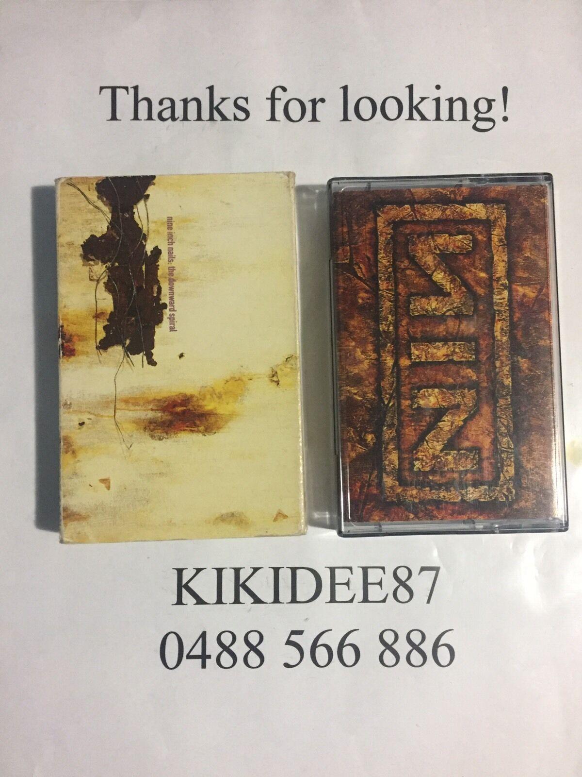 Nine Inch Nails The Downward Spiral Cassette Tape | eBay