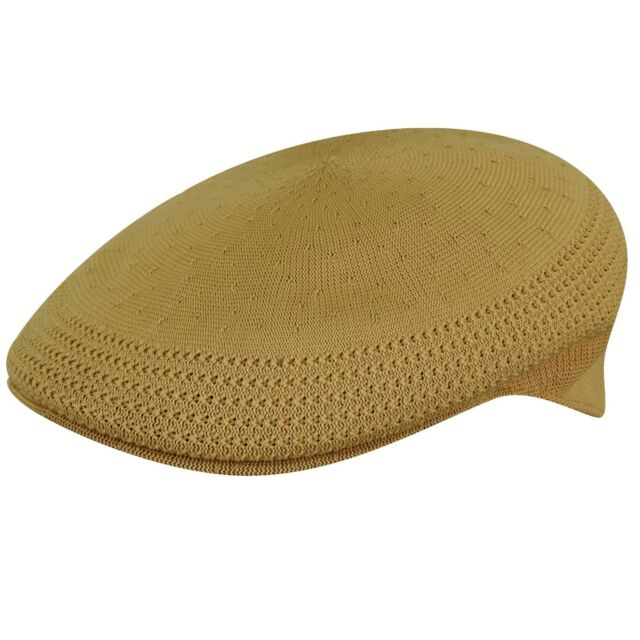 KANGOL Hat 504 Tropic Ventair Summer Flat Cap 0290BC Biscuit Size S - XL 5b9ec0dca111
