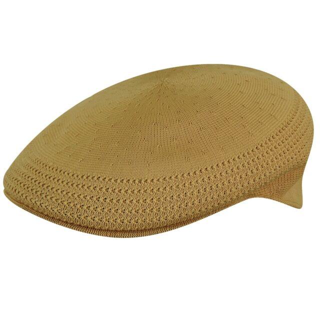 KANGOL Hat 504 Tropic Ventair Summer Flat Cap 0290BC Biscuit Size S - XL 680db65e8271