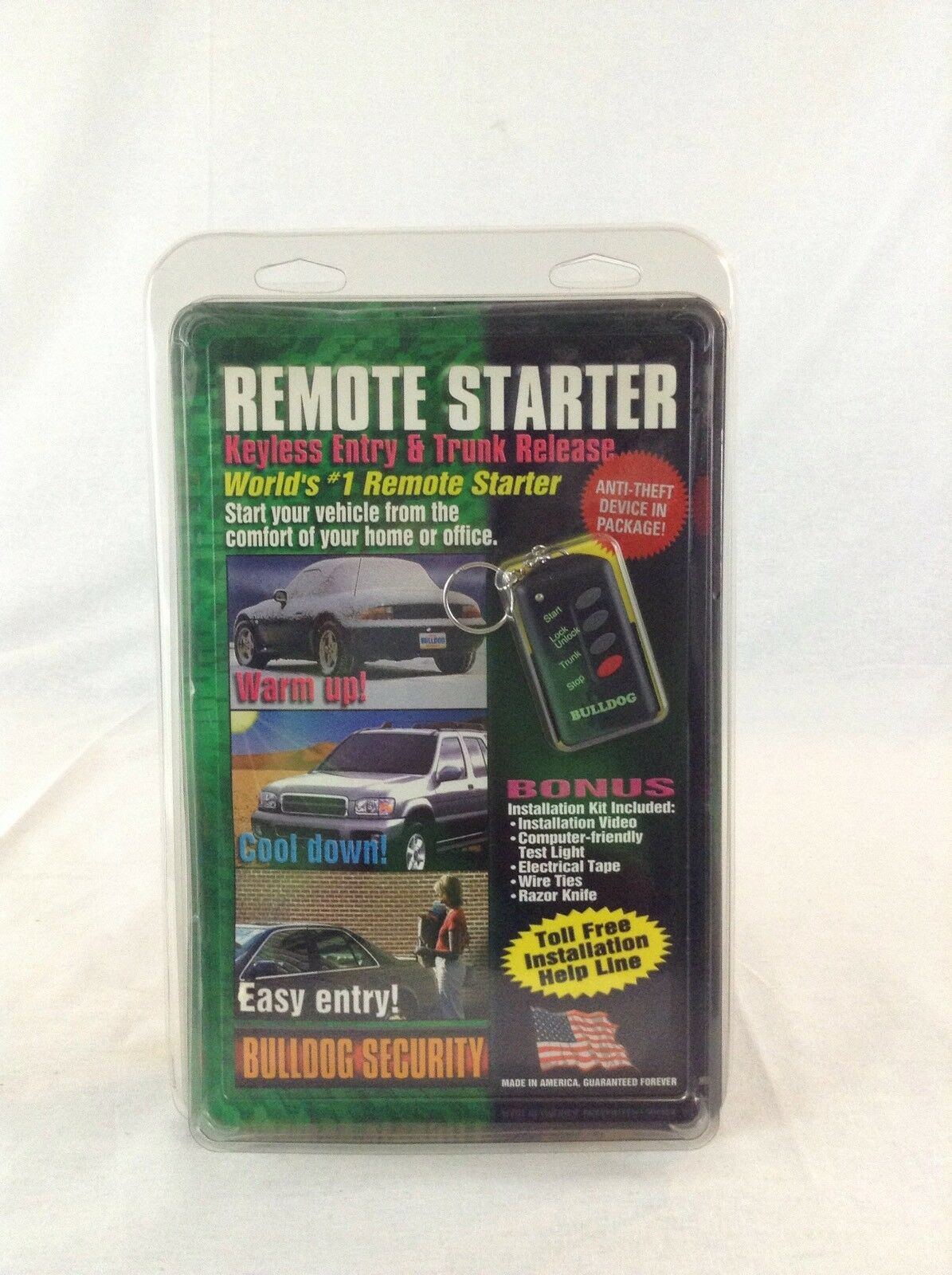 Famous Bulldog Security Remote Starter With Keyless Entry Thick Super Switch Wiring Shaped Security Bulldog Ibanez Dimarzio Old Bulldog Alarms Wiring BlueOff Grid Solar Wiring Diagram Remote Control Car Starter Bulldog Security Model RS102 | EBay