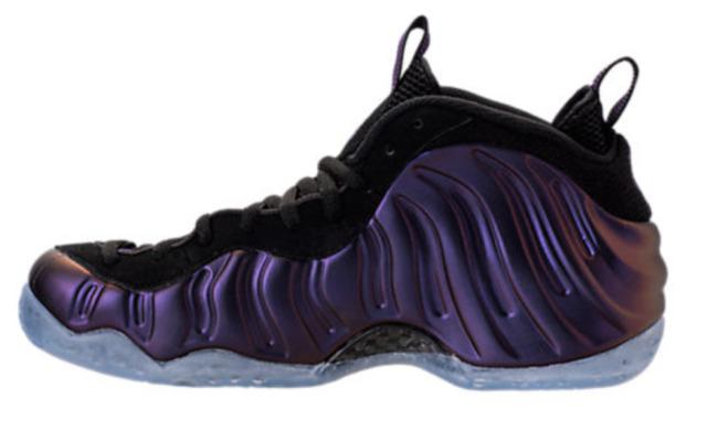 Authentic Nike Air Foamposite One Eggplant Black Varsity Purple