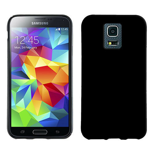 TPU Case,Back Cover,Silikon Hülle für Samsung Galaxy S5 Handy-schwarz!