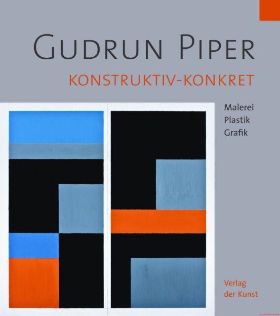 Fachbuch Gudrun Piper, Konstruktiv-konkret, Gestaltungsansätze, sehr gutes Buch