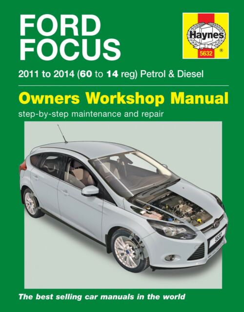 ford focus mk3 2011 2014 haynes workshop manual 5632 ebay. Black Bedroom Furniture Sets. Home Design Ideas