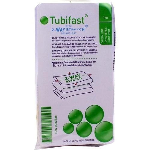 TUBIFAST 2-WAY-STRETCH 5 cmx1 m grün 1 St PZN 9932828