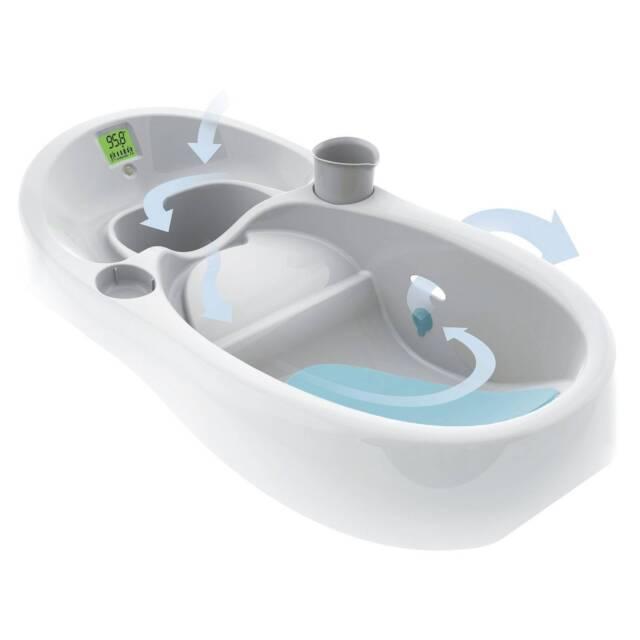 4moms Infant Tub Digital Thermometer White Baby Bath | eBay