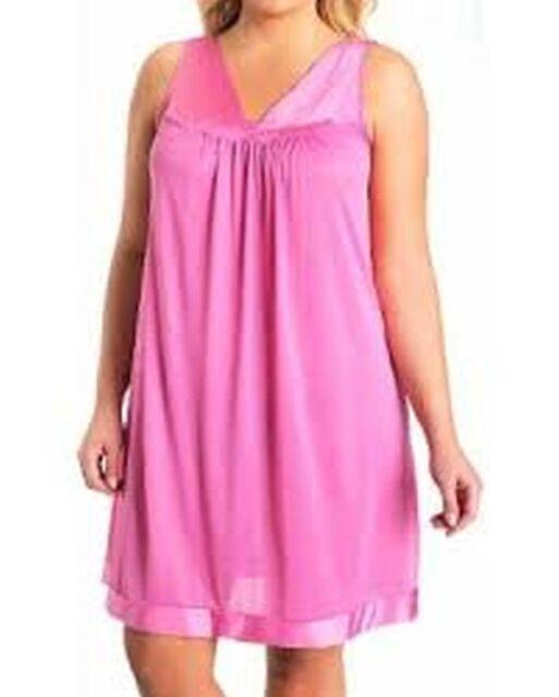 Vanity Fair Coloratura Exquisite Form Sleeveless Nylon Gown Size 3x ...