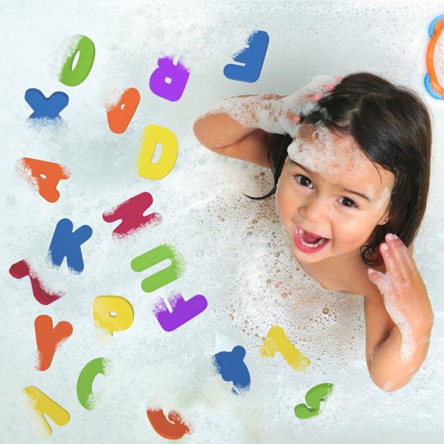 36PCS Children Education Alphabet Learning Toy Bath Tub Foam Letters Numbers Set