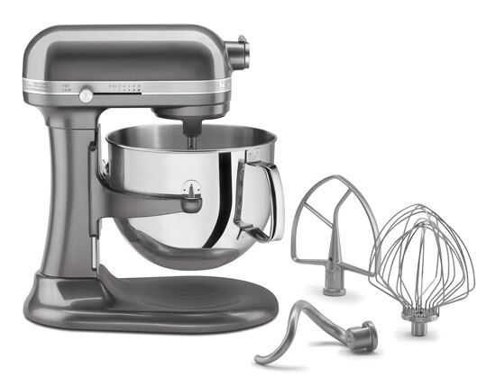 Kitchenaid 7 Quart Super Capacity Rksm7581ms Qt Bowl Lift Stand Mixer Silver