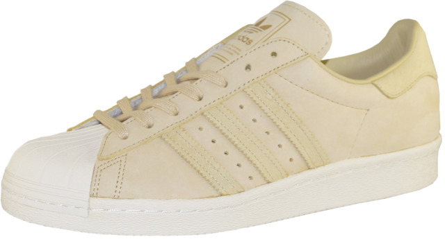 adidas Originals Superstar 80s Sneaker Scarpe Calzature sportive beige BY2507