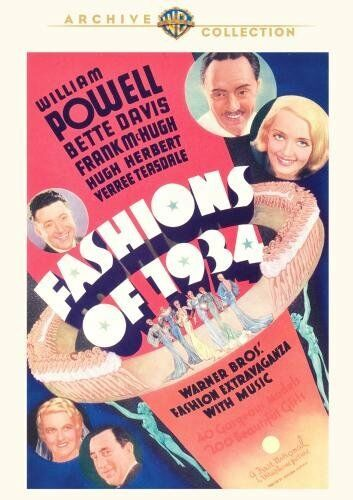 FASHIONS OF 1934 - (William Powell) Region Free DVD - Sealed