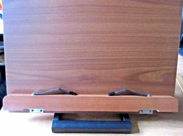 Wiztem Jasmine Book Stand Portable Wooden Reading Holder Desk