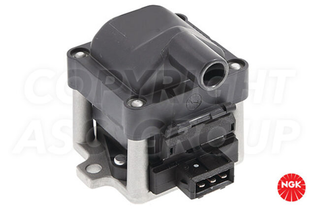 New NGK Ignition Coil For VOLKSWAGEN Golf MK 4 1.6 Convertable 1998-00