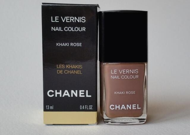 CHANEL Le Vernis Nail Polish Khaki Rose | eBay