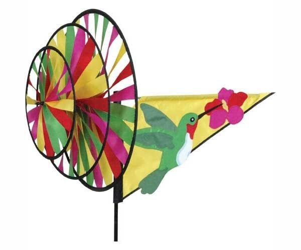 Premier Designs PD22106 Solarmax/suntex Fabric Hummingbird Triple Wind  Spinner | EBay