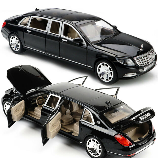 1 24 MERCEDES Maybach S600 Limousine Diecast Metal Model