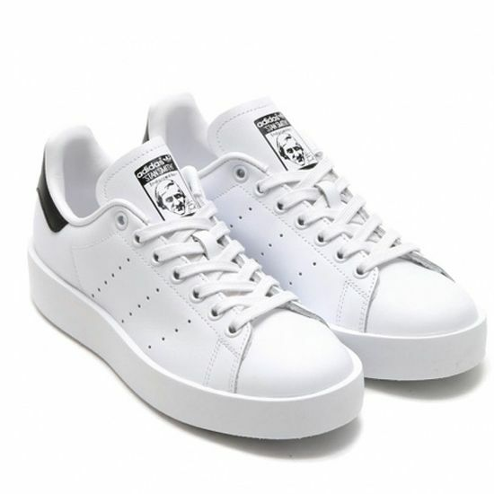 adidas Original Womens Stan Smith Bold S75213 White/black US W7.0 Takse |  eBay