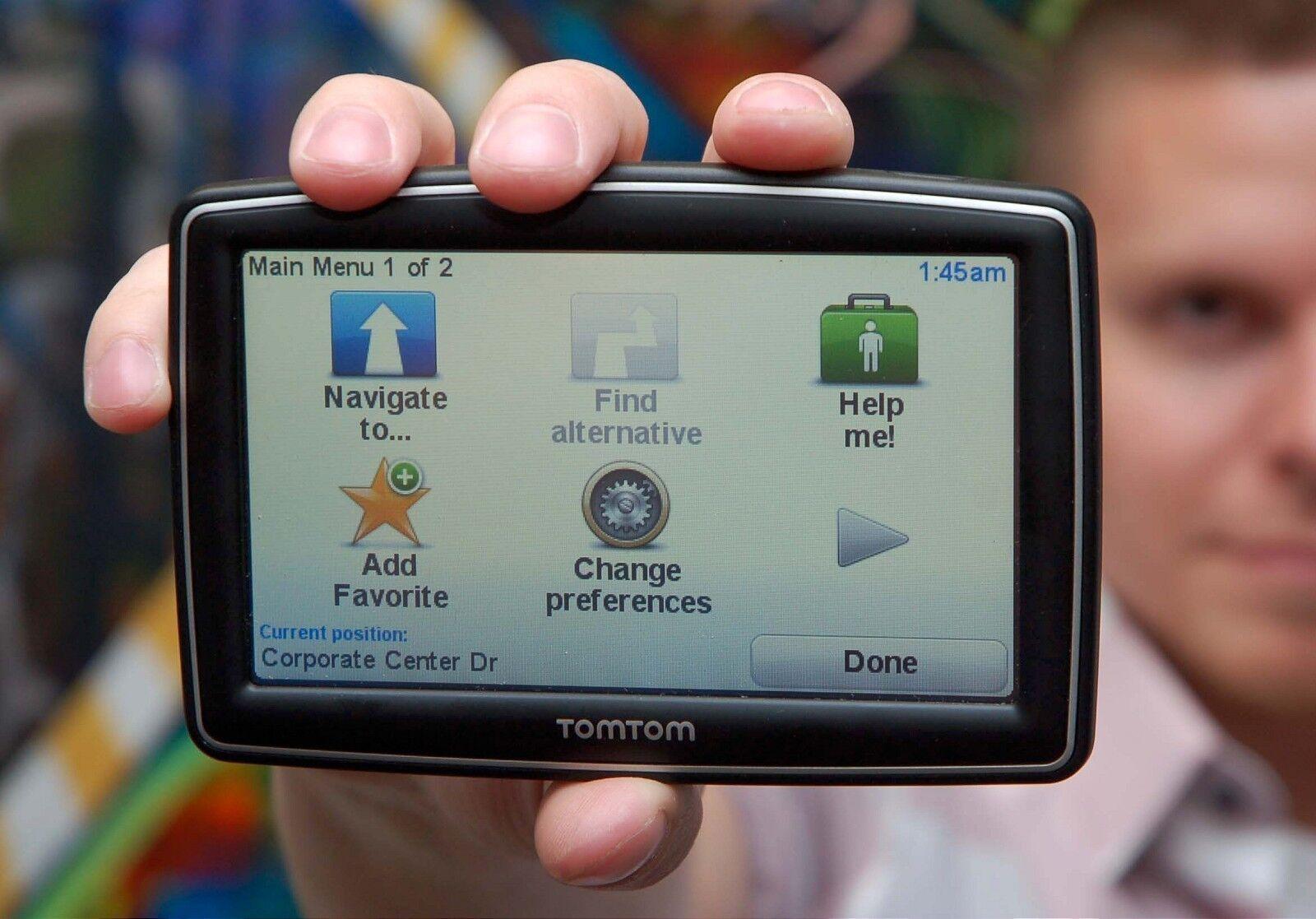 TomTom XXL 540S Customized Maps Automotive Mountable eBay