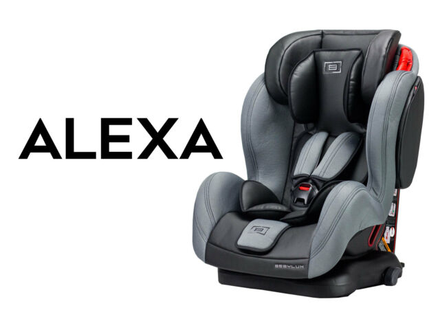 Baby Child Car seat Forward Facing 9 36 kg ISO Fix base leather 9month/12years  sc 1 st  eBay & Leather Reclining Group 123 Isofix Base Baby Car Seat Child Kids ... islam-shia.org