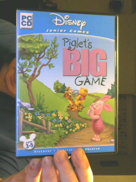 PIGLET'S BIG GAME DISNEY GAMES PC CD PERFECT XMAS STEAL LAST CHANCE SALOON