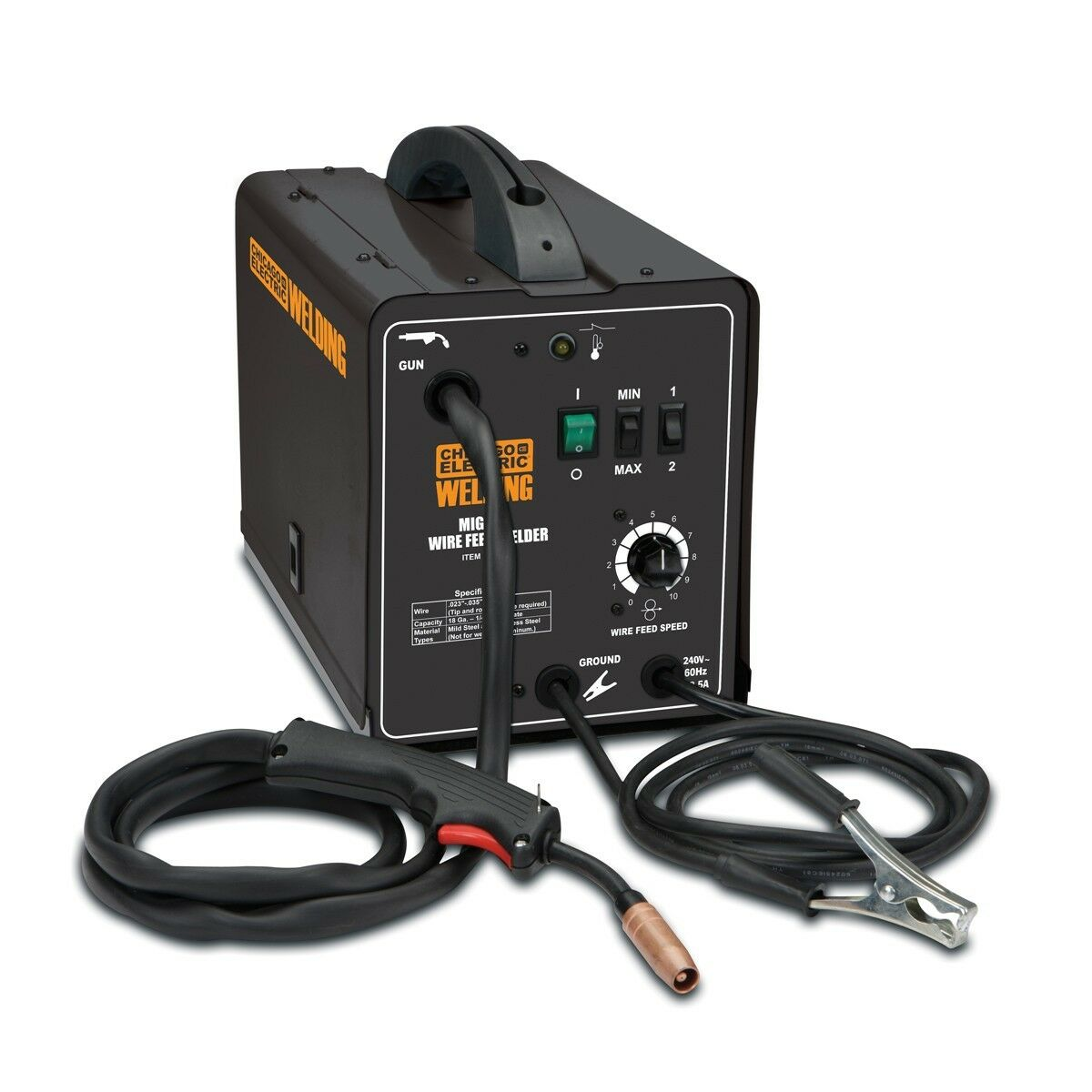 s l1600 chicago electric welder ebay wiring diagram for chicago electric welder at edmiracle.co