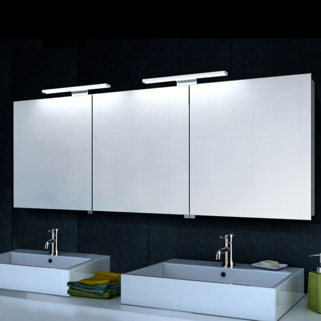 Lux-aqua Alu Badezimmer Spiegelschrank Bad LED Beleuchtung ...