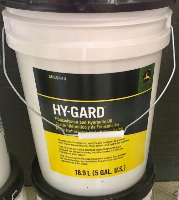 John Deere Hy Gard Transmission And Hydraulic Oil 5 Gallon