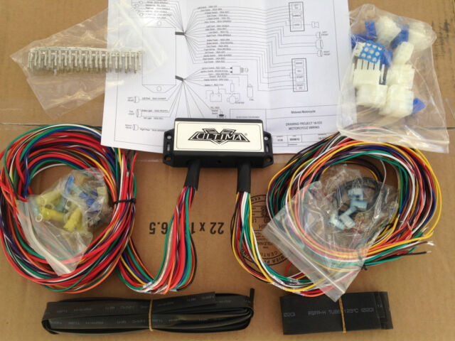 s l640 ultima plus compact electronic wiring harness kit bobber chopper ultima wiring harness 18 533 at crackthecode.co