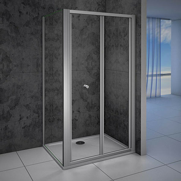 Bifold shower enclosure walk in 5mm safety glass door panel picture 13 of 13 planetlyrics Gallery