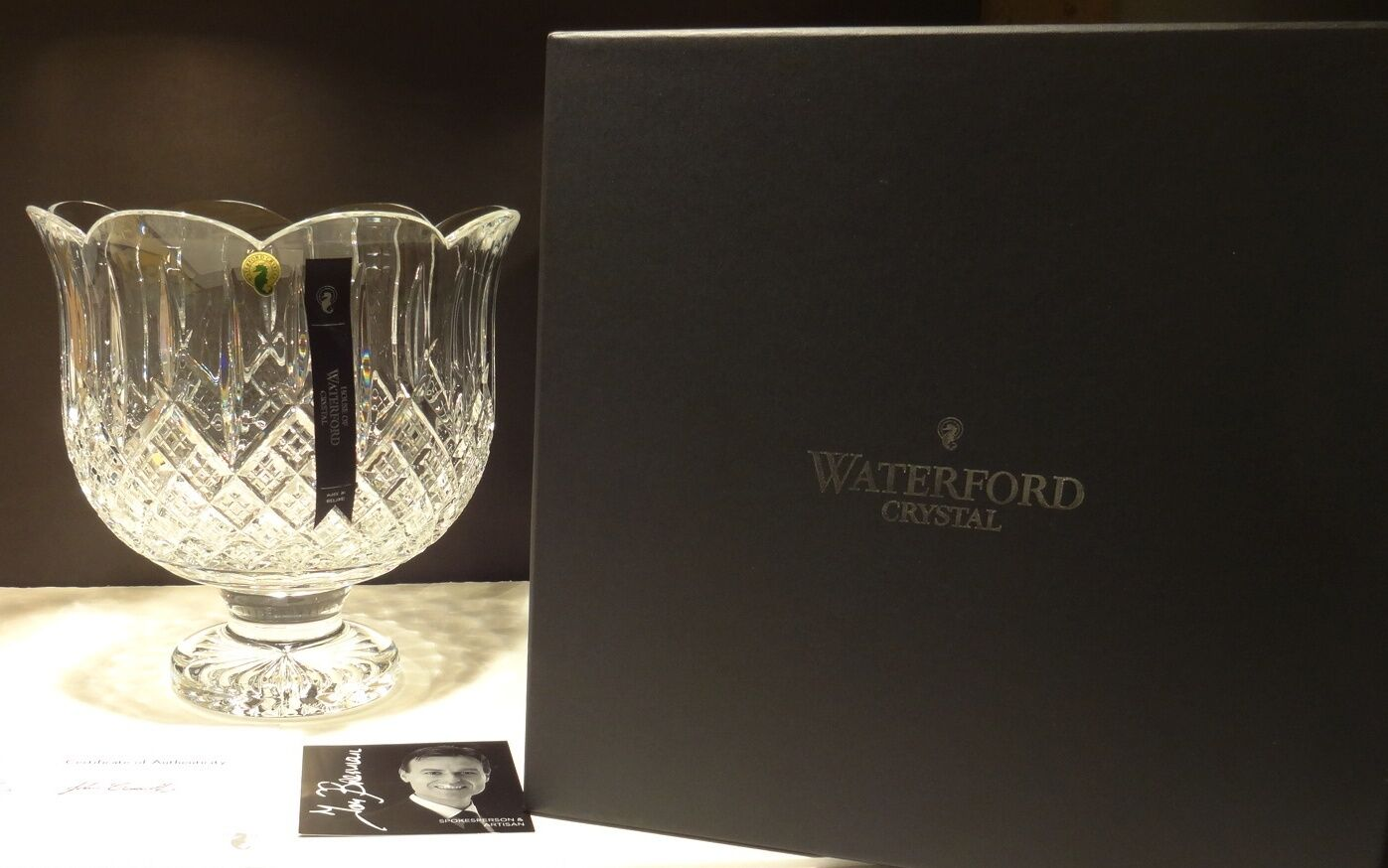 a history of the waterford crystal an irish crystal company