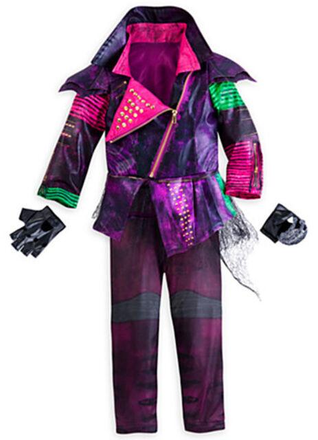 Disney Descendants Mal Deluxe Halloween Costume for Girls - Size 5 ...