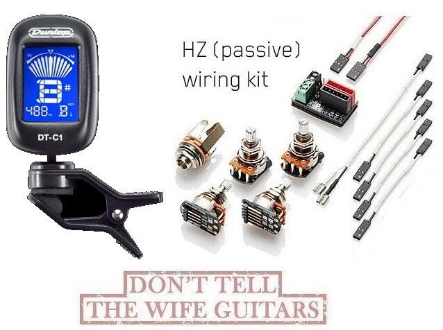 emg 1 or 2 pickups hz passive conversion wiring kit ebay rh ebay com emg hz wiring kit emg wiring kit uk
