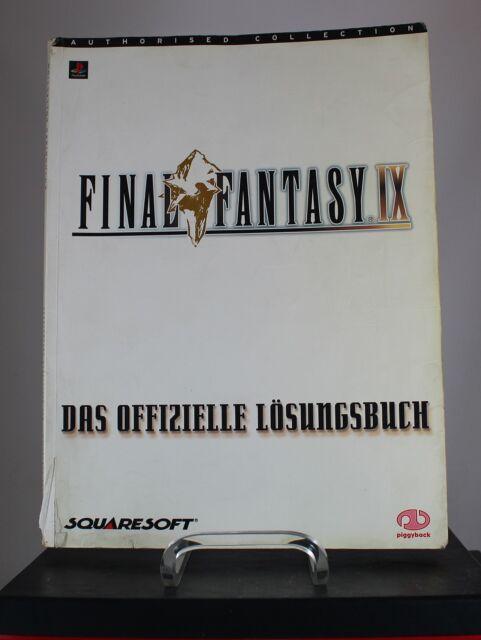 Final Fantasy IX Das Offizielle Lösungsbuch (2000,Piggyback) gut