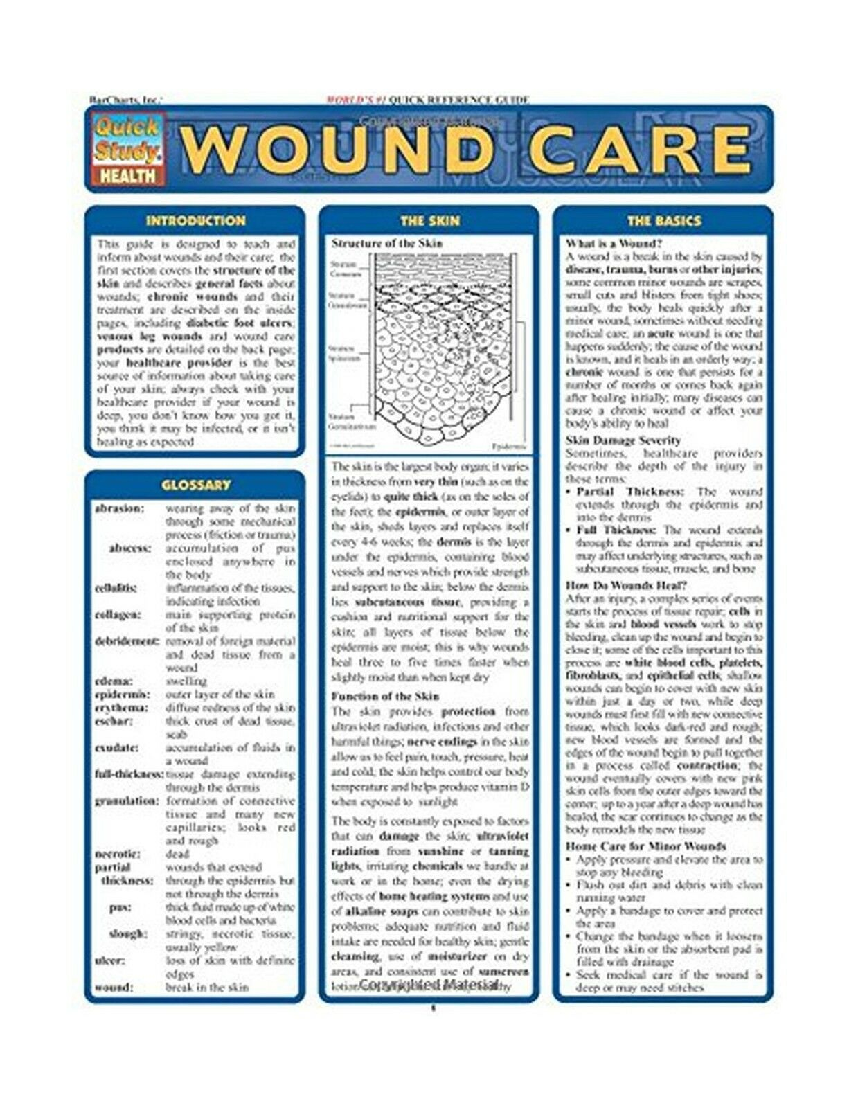 wound care quickstudy health