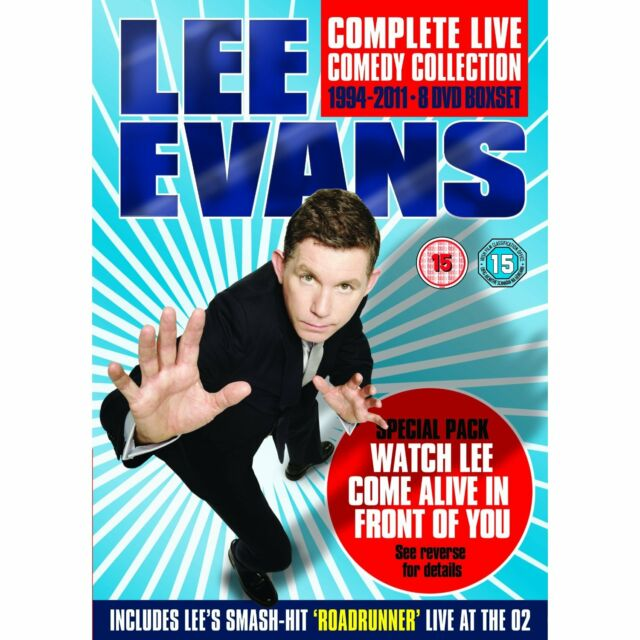 LEE EVANS Complete Live Comedy Collection 1994-2011 Special Boxset SEALED/NEW
