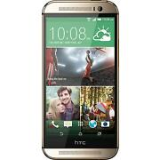 HTC One M8 (Latest Model)  16 GB  Amber Gold  Sma...
