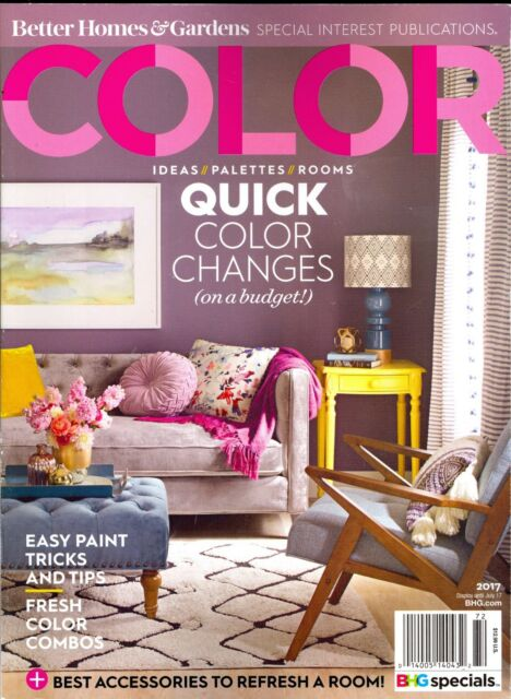 COLOR Ideas Palettes Rooms BHG SIP Quick Tricks Tips Accessories On A Budget