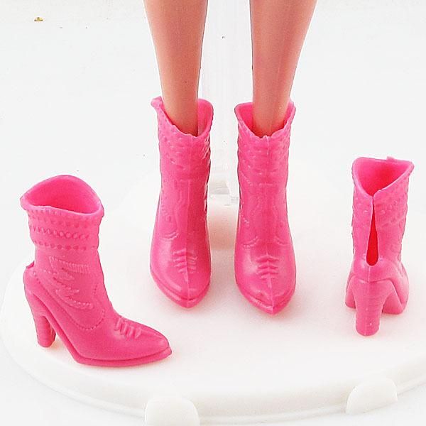 Barbie Shoes/Boots High Heel Shoe-Pink