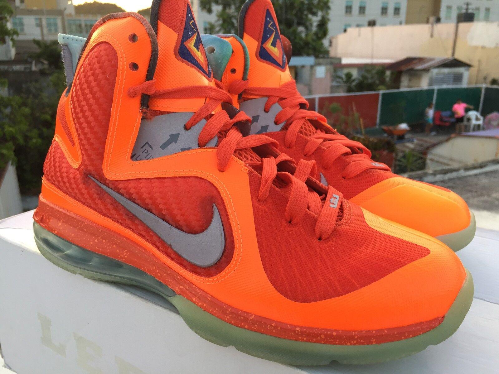 Nike Air Lebron 9 All-Star Galaxy SZ 9 520811-800 2012 Release