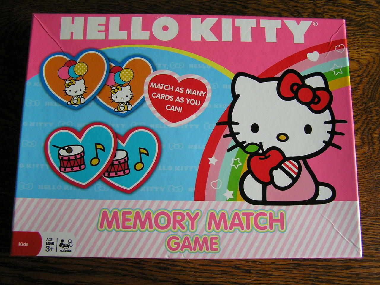 Uncategorized Hello Kitty Matching Game hello kitty memory match game 90027 cardinal industries inc ebay picture 1 of 3