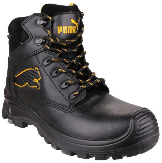 Puma Safety da uomo Nero Athletic sicurezza Boot VARIE MISURE Borneo met 630411