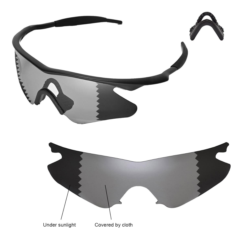 Walleva Polarized Transition/photochromic Lenses for Oakley M Frame ...