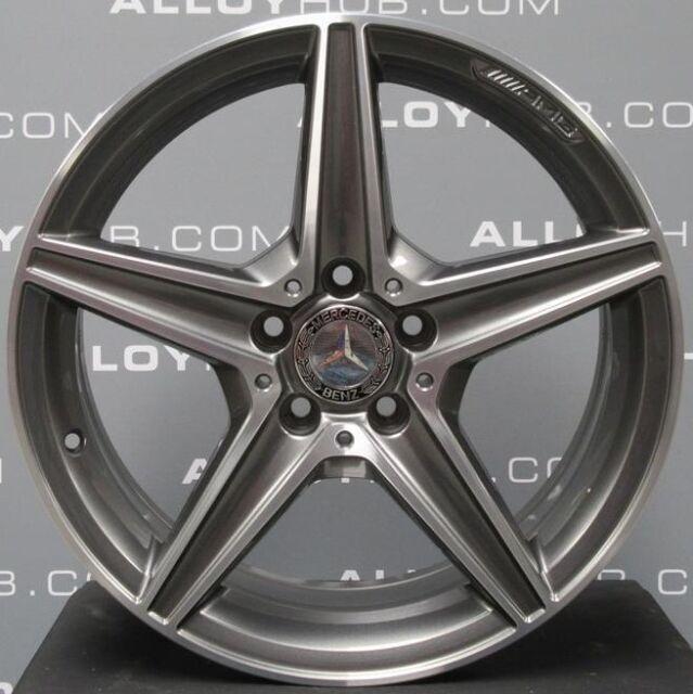"""Genuine Mercedes-Benz C Class W205 AMG 18""""inch 5 Spoke"""