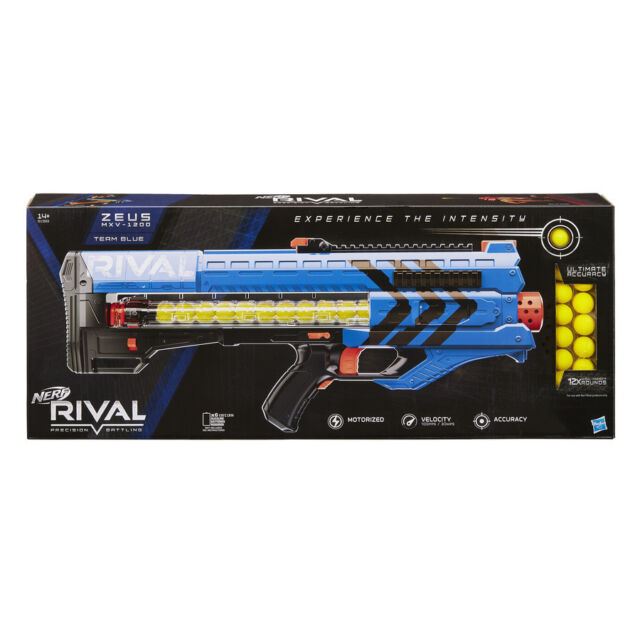 Nerf Rival Zeus MXV 1200 Blaster Blue or Red