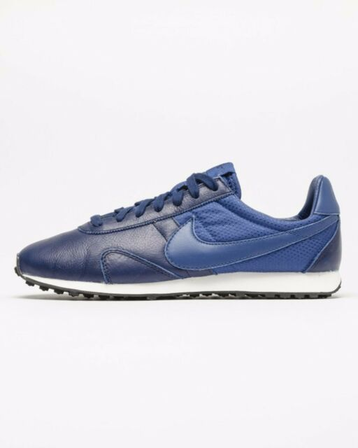 Nike Pre Montreal Racer Pinnacle Wmn Sz 7.5 839605-400 Leather INSGN  BLUE/INSGN